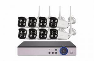 8ch 1080p Wifi Nvr Kit security system wireless