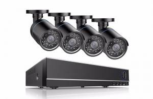 2MP AHD Camera DVR CCTV kerfi