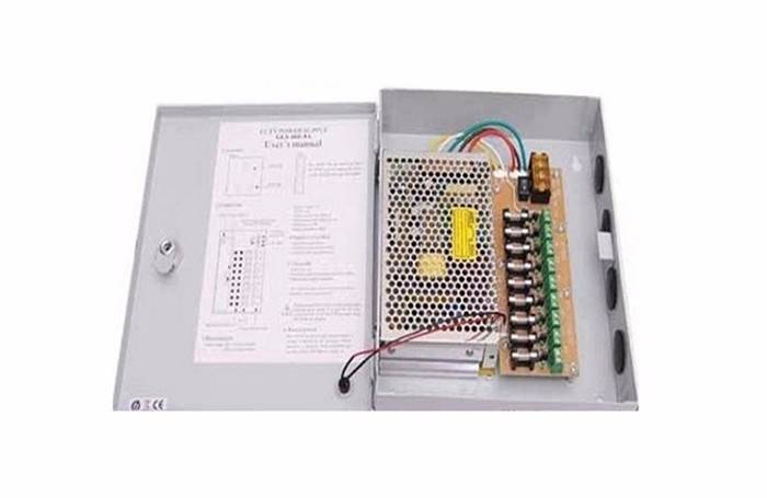 12V Metal Centralized Power Supply