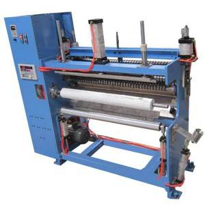 Wholesale Price Paper Roll Cutting Machine - YM08B sheet material Slitting and rewinding machine (without core) – R.J Machinery