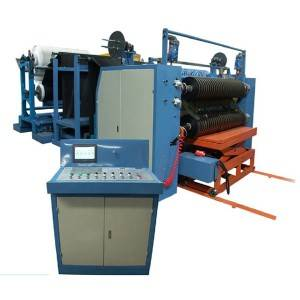 OEM manufacturer Coating And Laminating Machine - YM10F Slitting machine (tyer rubber) – R.J Machinery