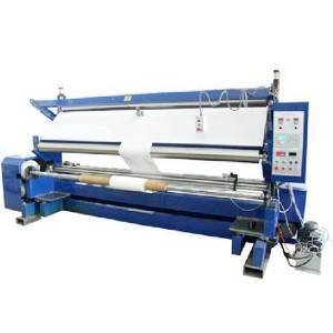 China OEM Foam Saw Cutter - YM28 Cloth Inspection and rewinding machine (glass fiber) – R.J Machinery