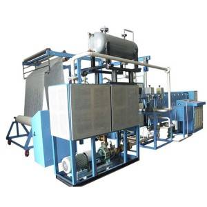 YM60A Powder dot and scattering coating machine