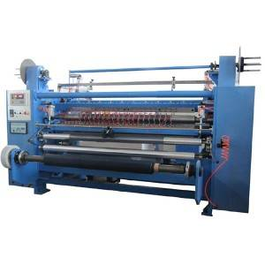 YM10 Vertical type Slitting machine (heating cut)