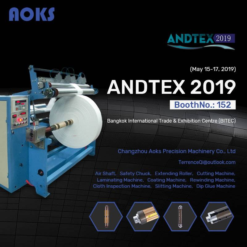 AOKS&R.J. Machinery attend ANDTEX2019 THAILAND May 15-17