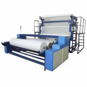 China New Product Pva Mop - YM85 Ultrasonic oversew edge and rewinding machine – R.J Machinery