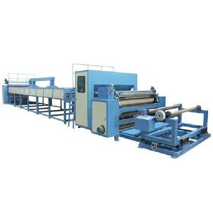 YM56 Scrape coating and scattering lamiating machine