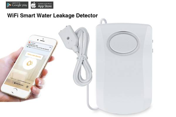 Smart wifi water leak alarm
