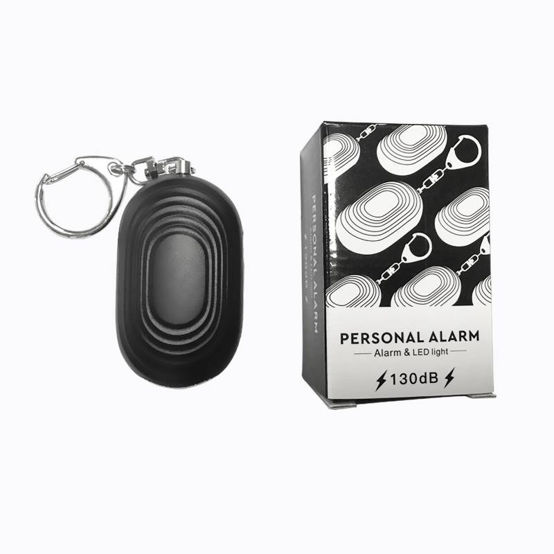Led Flashlight Emergency Siren Personal Alarm With Key chain Featured Image