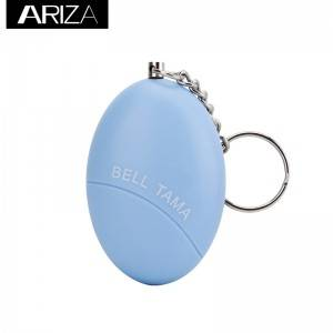 Chinese style printing security colorful 120db alarm egg shaped personal alarms for girl women