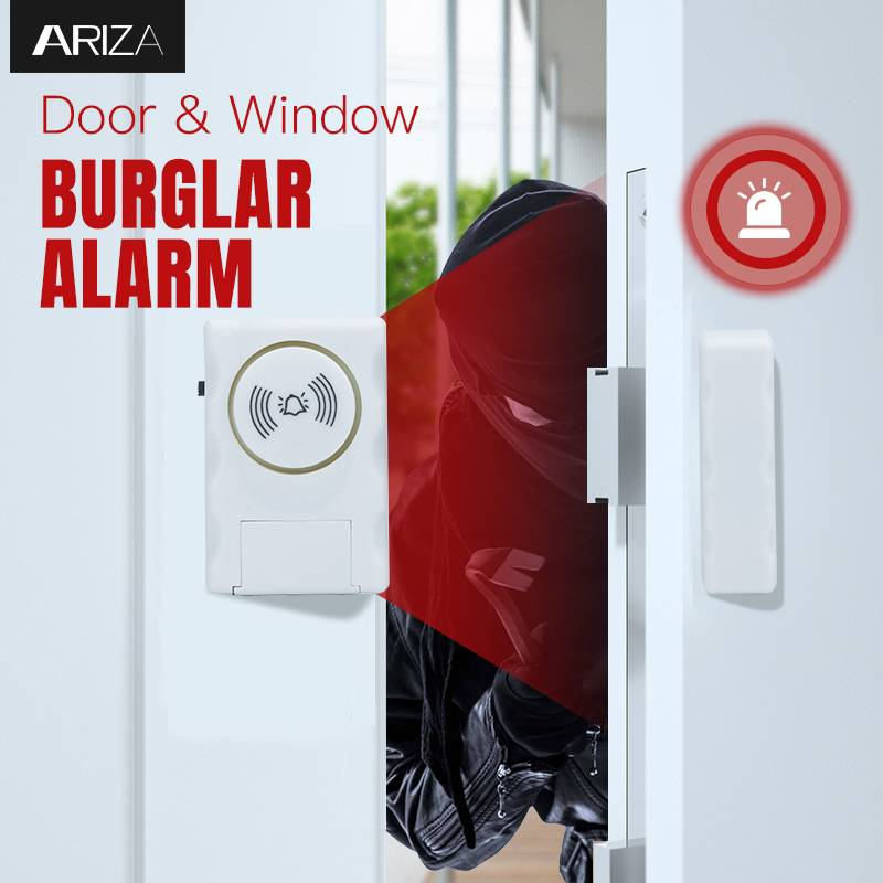 China Wireless Entry Home Door Window Burglar Alarm Safety Security System Magnetic Sensor Supplier And Manufacture Ariza Electronic