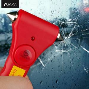 Anti Attack Personal Alarm Auto Safety Hammer Seatbelt Cutter  Safety Belt Cutter Vehicle Escape Tool Lifehammer  Emergency Escape Tool Vehicle Emergency Hammer – Ariza