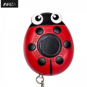 Super Lowest Price Meinoe 125db Personal Alarm Device Sound Alarm Ladybug Personal Alarm