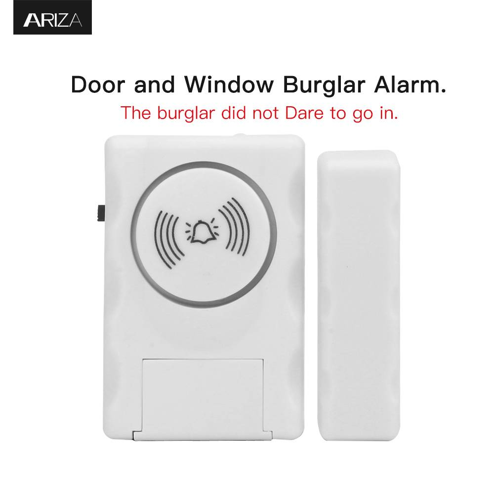 Home Shop Security Door Alarm 115 dB Wireless Door Window Burglar Anti-Theft  Alarm Sensor Featured Image