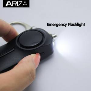 Portable 130 dB Emergency Self Defense personal alarm Keychain For Kids Women Elderly Protection