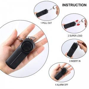 OEM aaa battery self defense weapons for women anti attack whistle safe sound security personal alarm