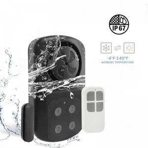 IP67 waterproof 140db super loud telecontrol door window burglar alarm anti theft door alarm for supermarket