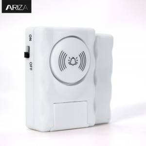 Factory Cheap Security Home Alarm System Wireless Alarm Sensor Combines Pir Motion Sensor And Siren With Remote Control Py-sy083
