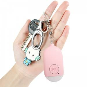 Personal Alarm Siren Keychain Bluetooth SOS Emergency Alert Button