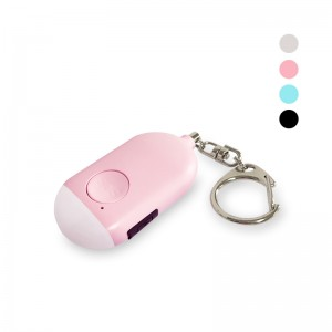 LED Flashlight SOS Botton Safety Panic Button Bluetooth Tracking Personal Alarm