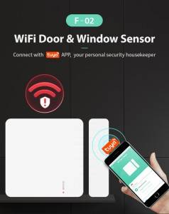 Manufacturing Companies for Smart Home Open Zigbee Wifi Door Sensor Door Magnetic Alarm