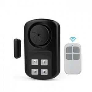 Waterproof Battery Power Operated Wireless Remote Control Sensor Door Bell Alarm