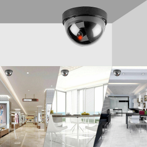 Security Camera Dummy Dome Camera with Flashing Red LED Featured Image