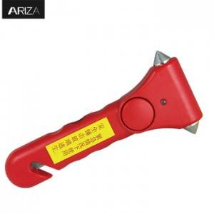 Car Emergency Escape Safety Glass Hammer With Anti-Theft Alarm