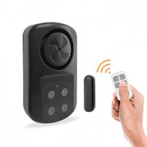 Waterproof Emergency Security Remote Control Door & Window Burglar Sensor Alarm