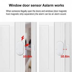 Smart Home Security Alarm System Wireless Burglar Door Alarm System