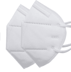 KN95 Mask Anti VIRUS Protective Disposable White color face Shield