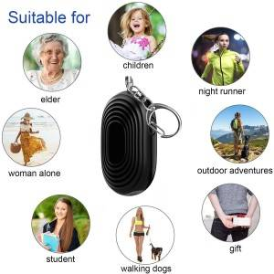 Wholesale Discount Wrist Alarm For Elderly - Women Self Defense Security Personal  Alarm LED Keychain 130 DB Safe Sound Personal Alarm – Ariza