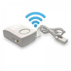 2020 new design 9v long standby wireless tuya wifi real-time water leakage detector sensor alarm