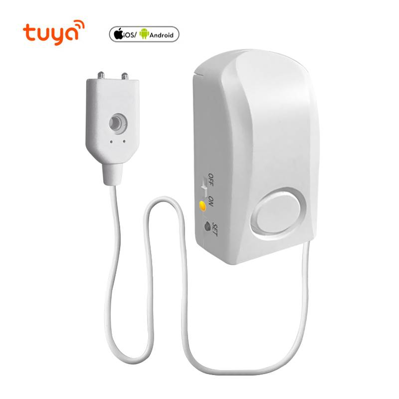 2020 new design tuya smart wifi home alarm systerm 130db water leak detector sensor Featured Image