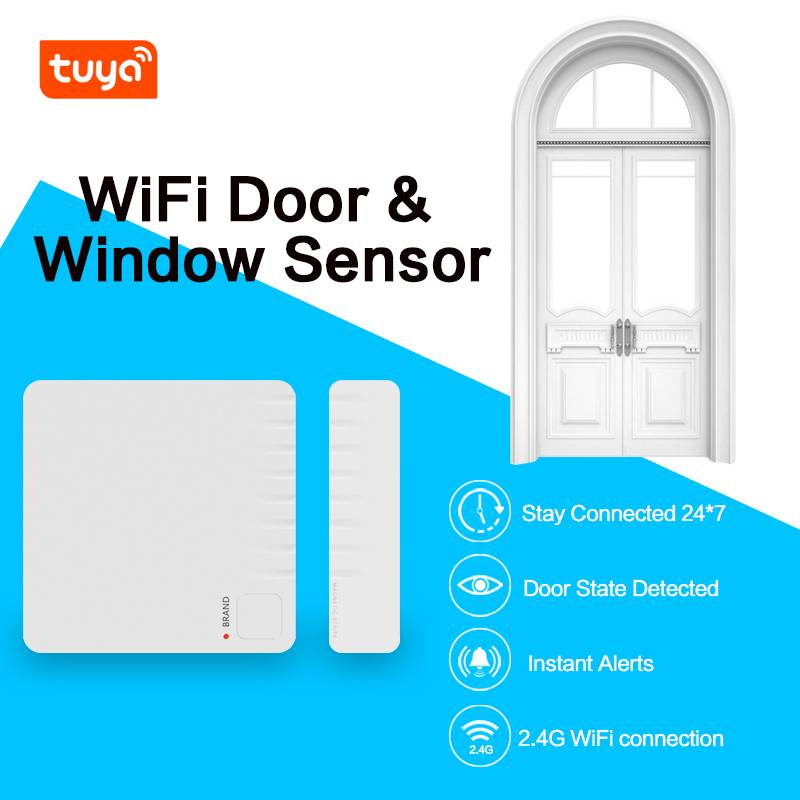 Smart wireless alarm system home security magnetic door alarm sensor with tuya smart app Featured Image
