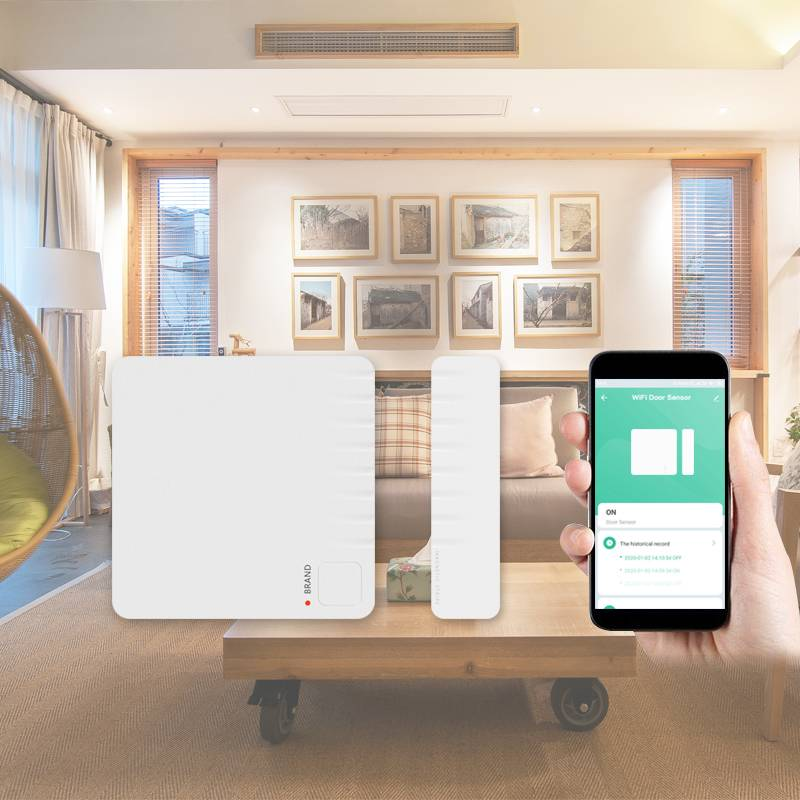 Wireless WIFI Door Sensor Tuya APP System