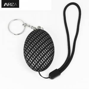 Self Defense personal Alarm keychain Egg Shape Girl Women anti-attack personal alarm keychain panic alarm