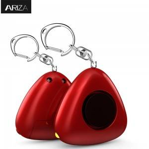 Portable Panic Alarm Personal Alarm for Women 130DB Emergency Self-Defense Security Alarm Keychain with LED Light for Women Kids and Elders – Ariza