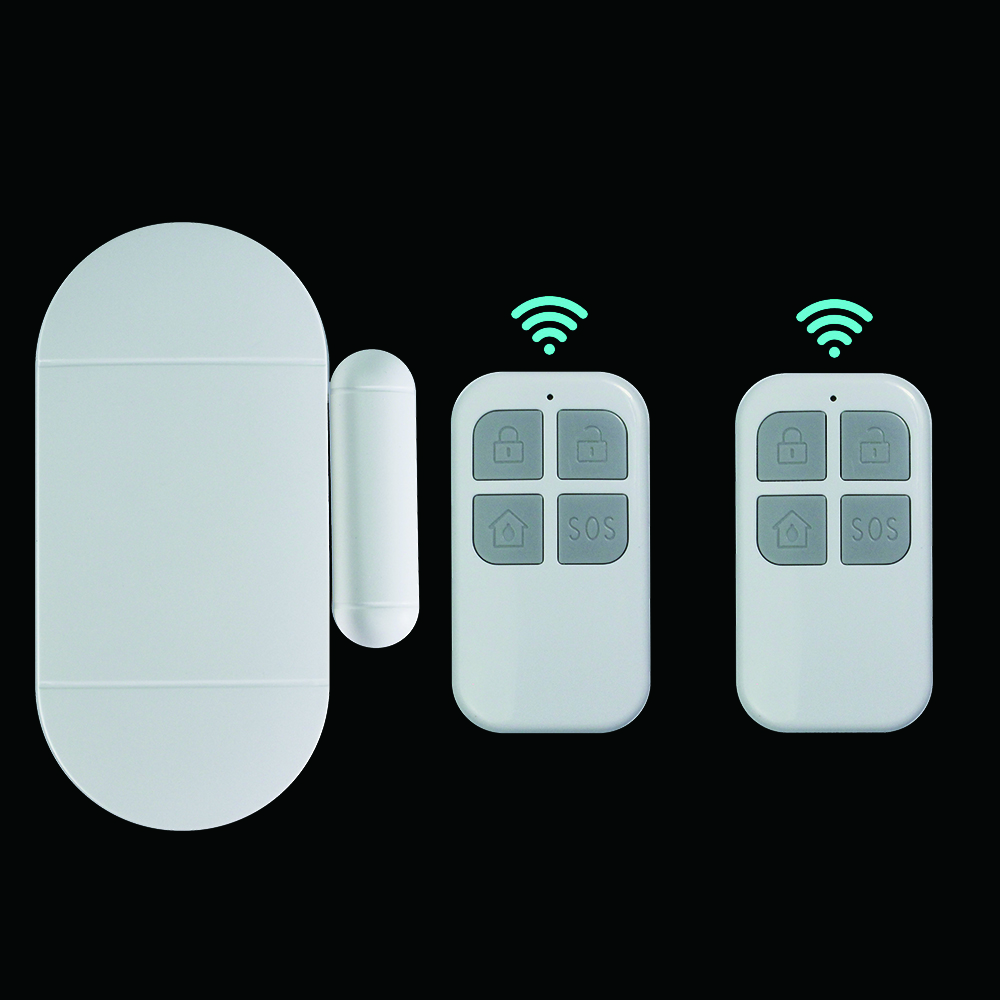 Wireless Magnetic Sensor Home Security Alarm System DIY Kit with remote control Featured Image