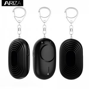 Online Exporter Security Fence Laser Perimeter Alarm - 130DB Self-Defense Electronic Device Security Alarm Keychain With LED Light For Women Kids Girls Elderly Safety – Ariza