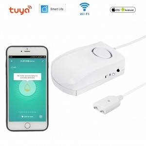Factory smart tuya wifi water sensor app notification flood detector