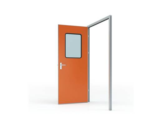 Swing Door with Colored GI Panel (door leaf thickness 50mm)