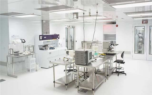 PCR Clean Room HVAC System