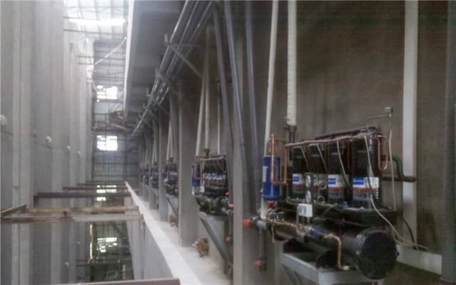Zhongshan Mushroom Growing Plant Air Handling Unit HVAC System