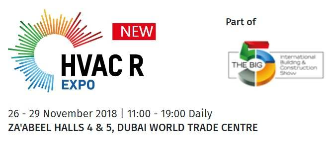 HVAC R Expo of the BIG 5 Exhibition Dubai