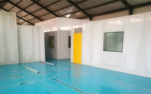 Pharmaceutical Clean Room Bolivian Factory Turnkey Project
