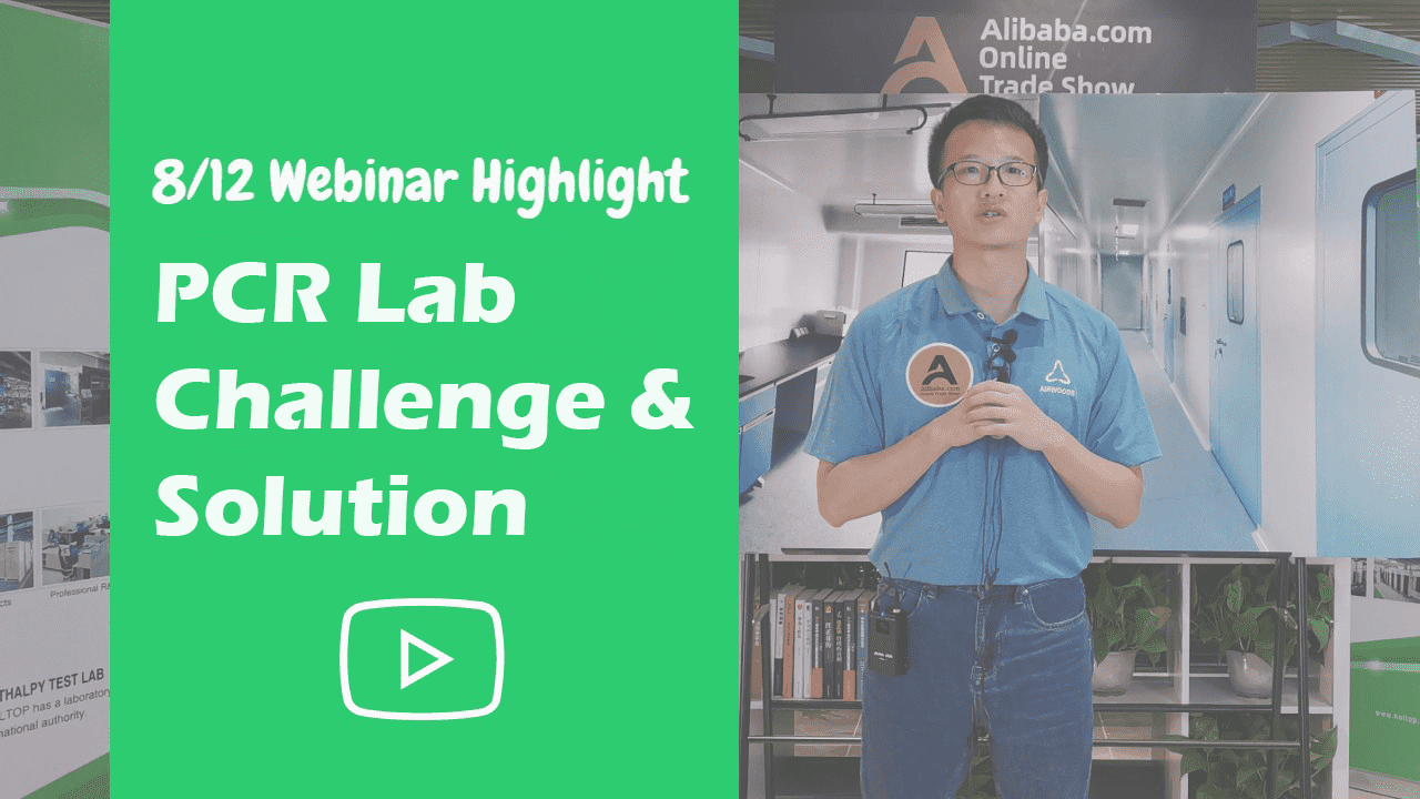 PCR Lab Challenge & Solution – 8/12 Airwoods Webinar Highlight
