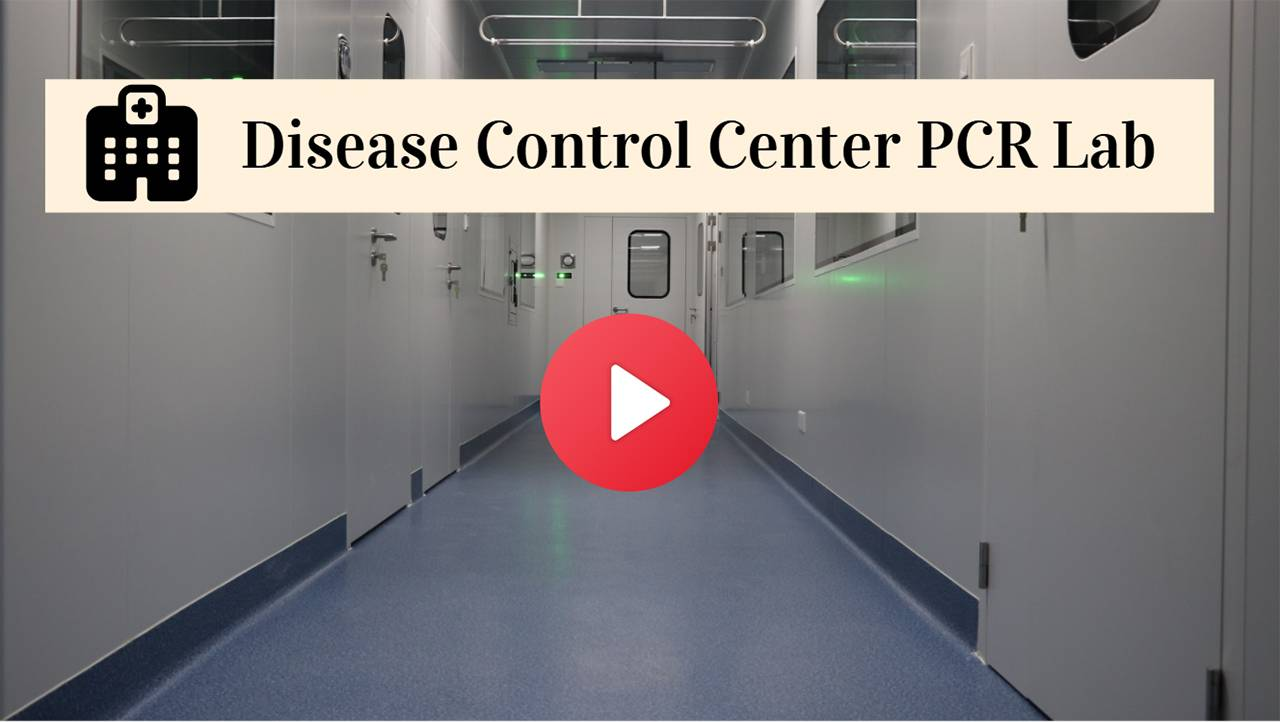 Airwoods Projects: Disease Control Center PCR Cleanroom