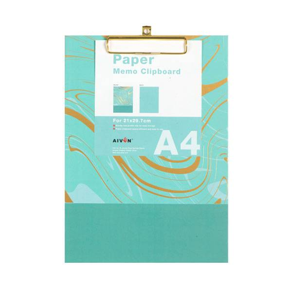 Special Price for Tape Dispenser Factory - Paper Clip Board A4 Paper Clip Board – Aiven