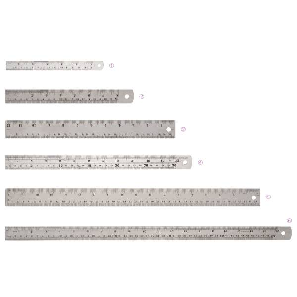 Factory Free sample Trend Office Essentials - Steel Flat Rulers – Aiven